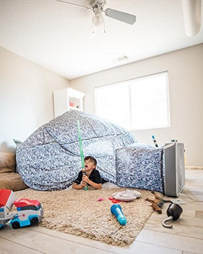Air Fort Build A Fort in 30 Seconds, Inflatable for Kids, Digital Camo