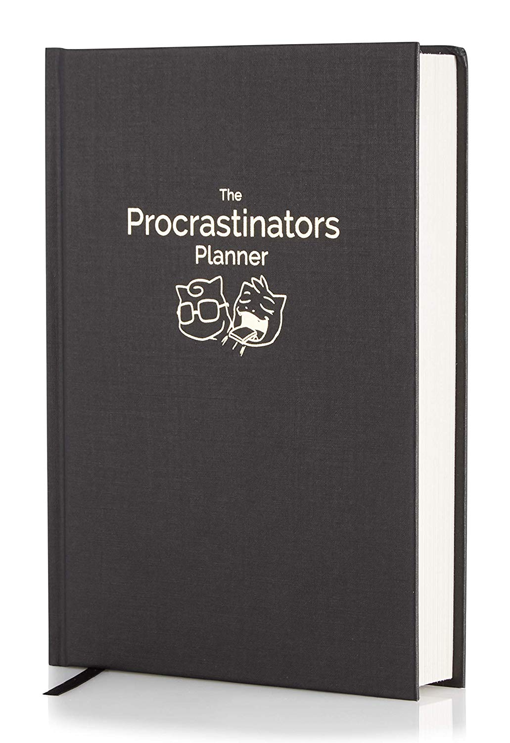 The Procrastinators Planner  Daily Weekly Organizer Designed to Increase Productivity and Combat Procrastination  Hardcover Half Year 182 Day Planner with Science and Philosopy of Procrastination