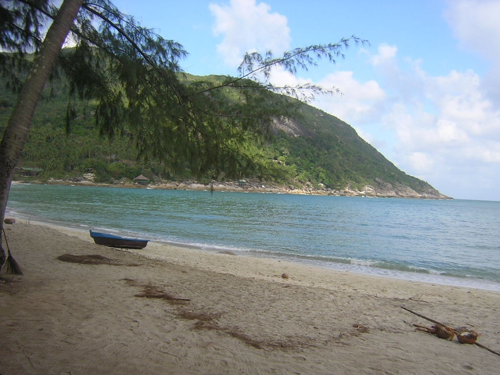A view of the bottle beach, also known as Hat Khuat