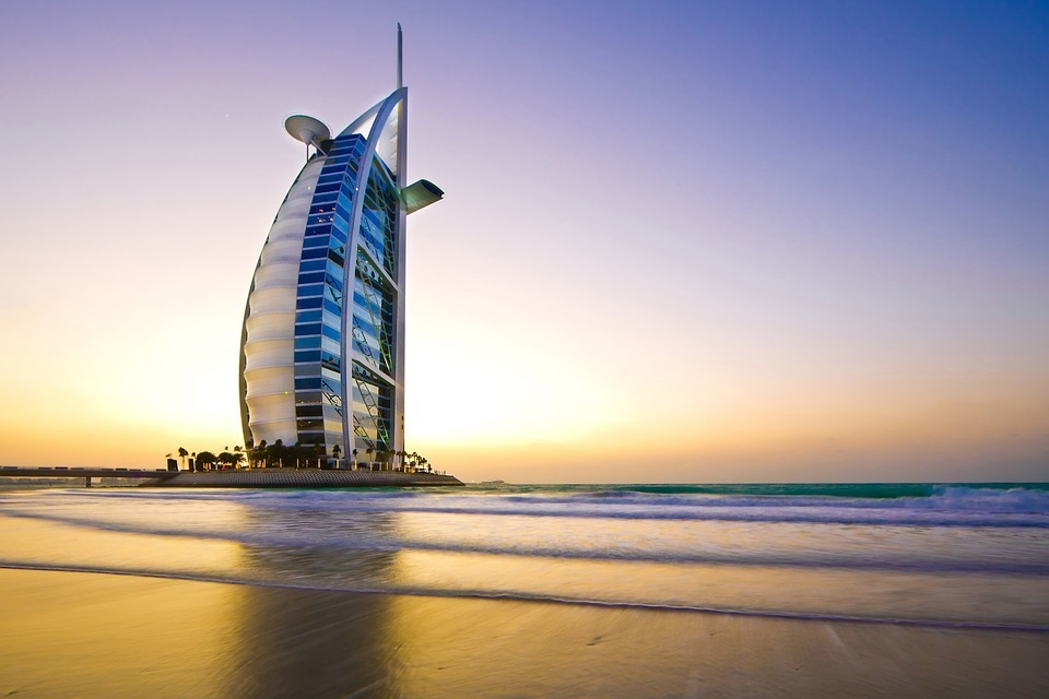 the largest hotel in Dubai